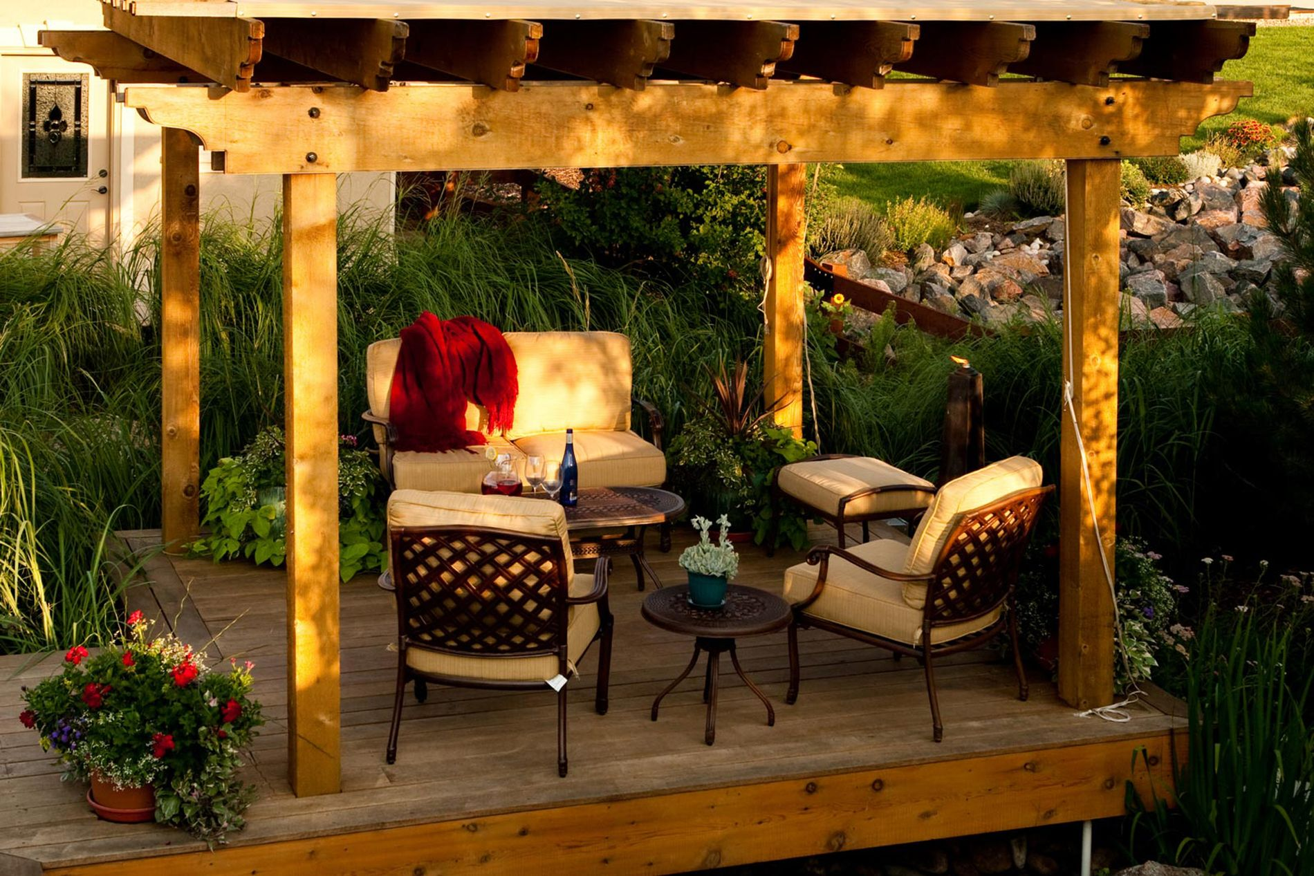 Deck and Shade Structure