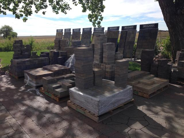 Belgard paver display