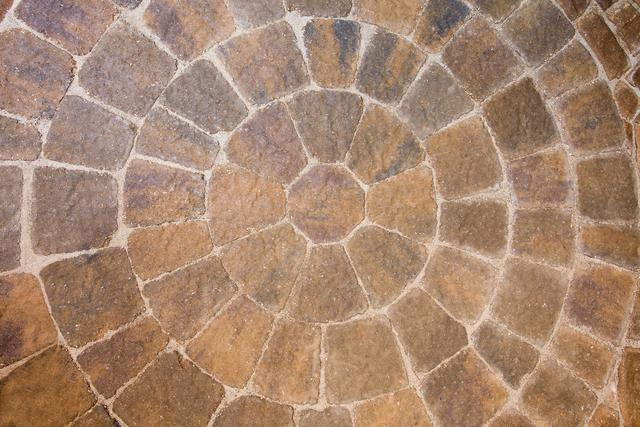Paver Circle Pattern