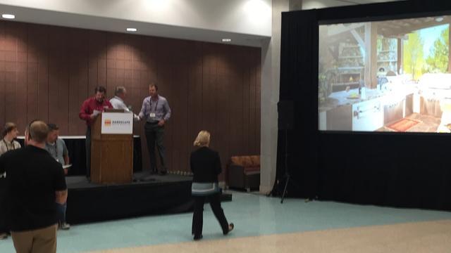 Tim Lindgren receives HNA award in Kentucky