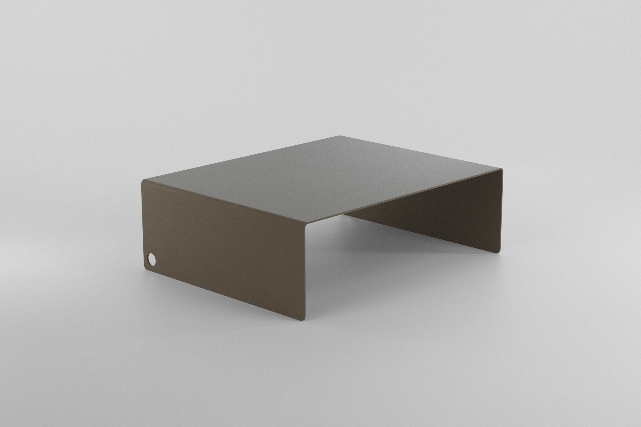 The Laptop Stand - grey beige