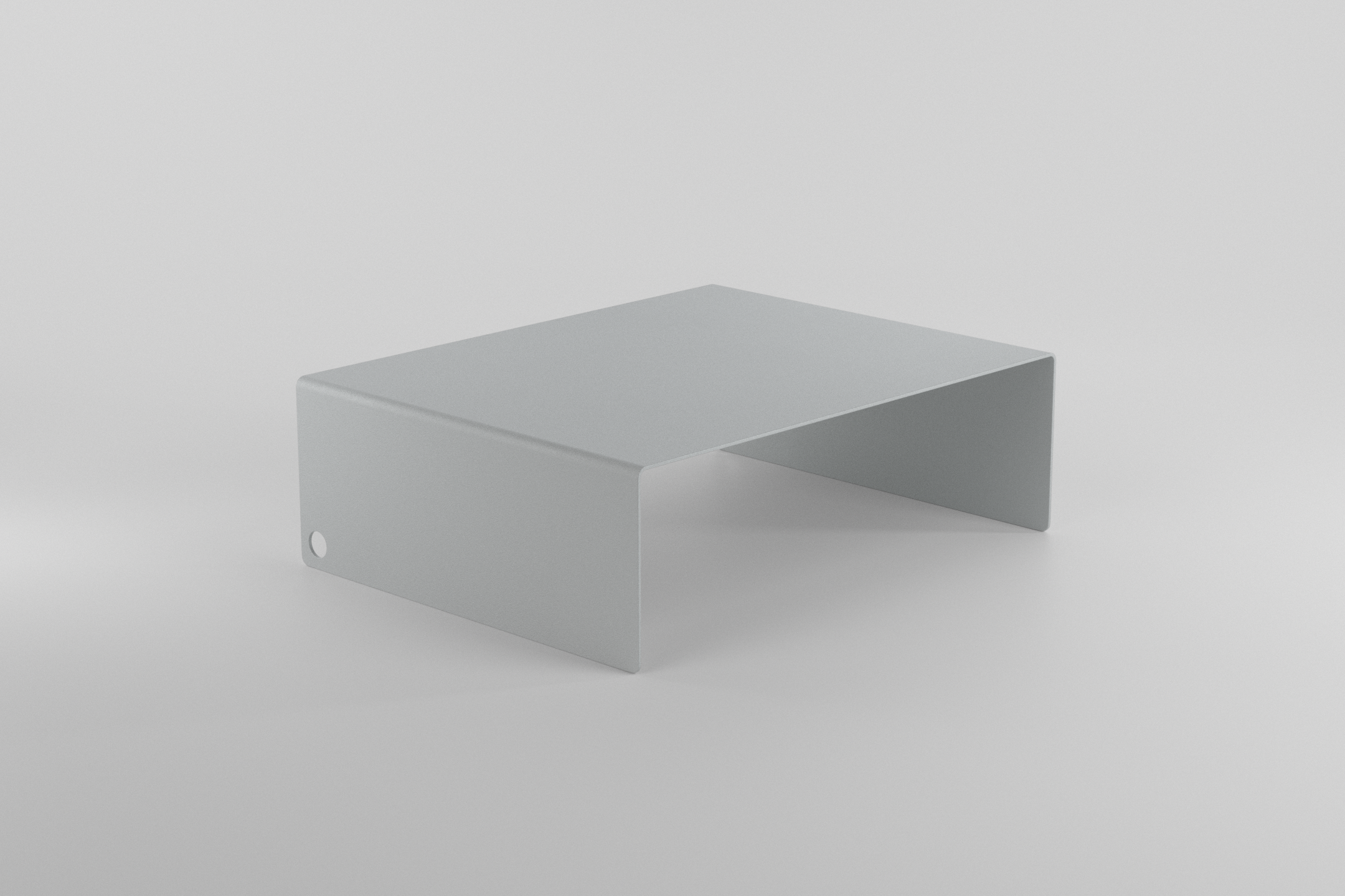 The Laptop Stand - light grey