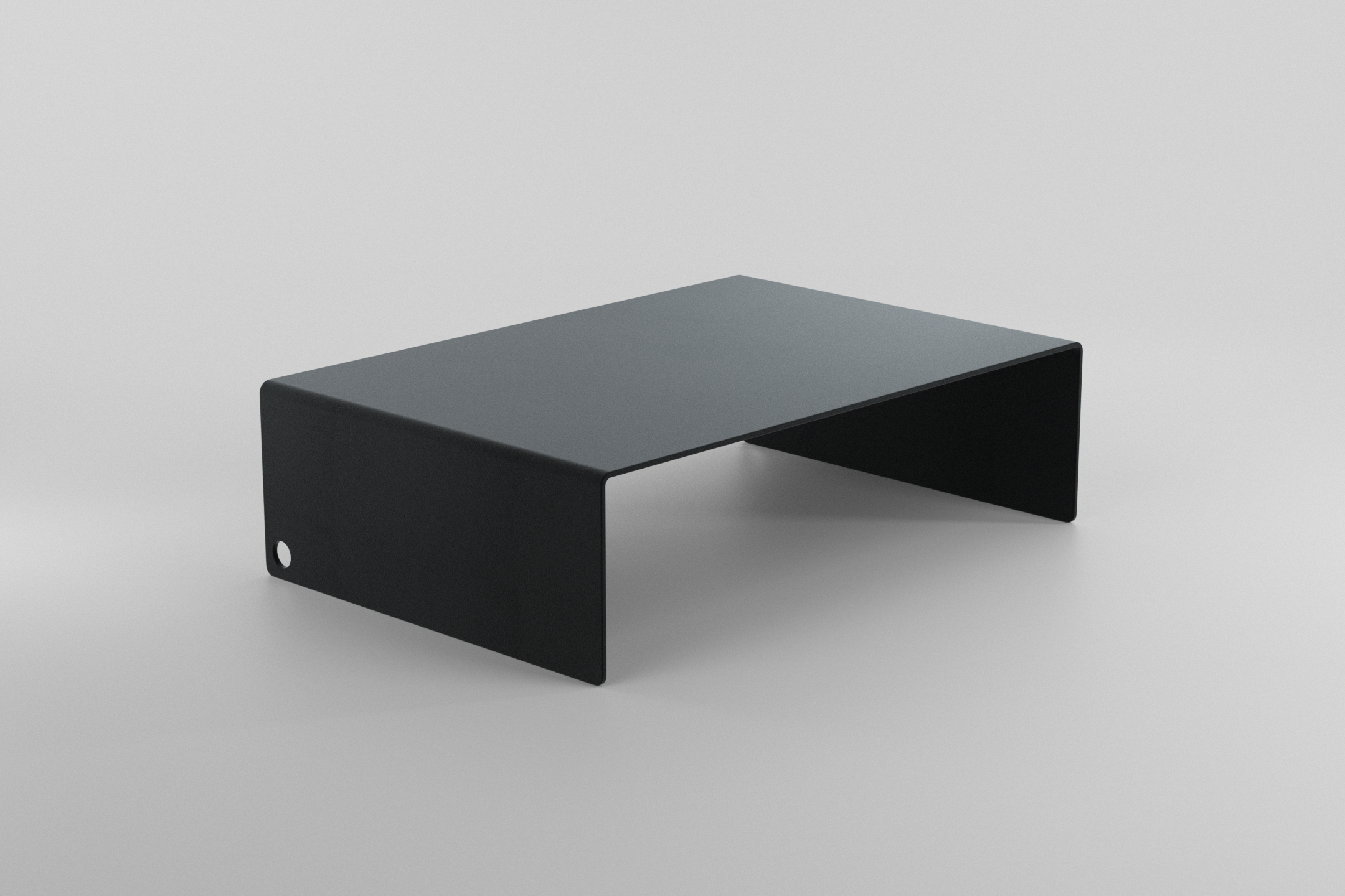 The Monitor Stand - black