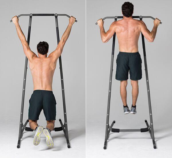 pull up demonstration | push pull legs