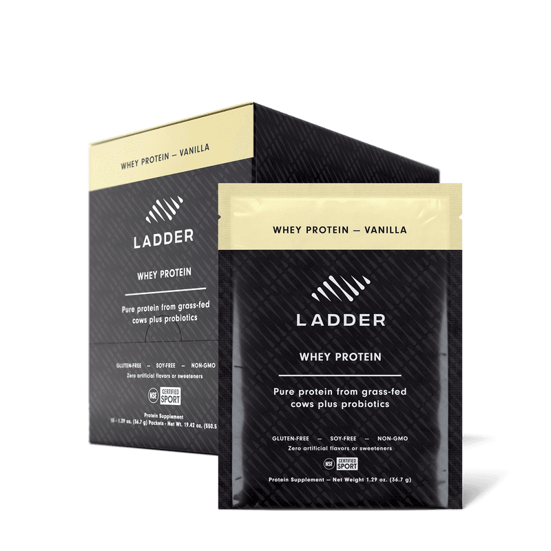 Whey Protein Vanilla / 30 On-the-Go Packets