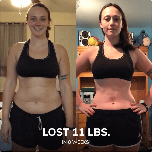 """""""I was incredibly surprised to see myself actually lose weight from just walking! I normally workout daily, but something about just walking and the team holding me accountable actually had me seeing results!"""""""
