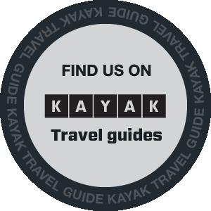 Find us on kayak travel guides logo