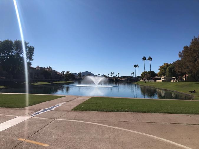 Greenbelt fountain