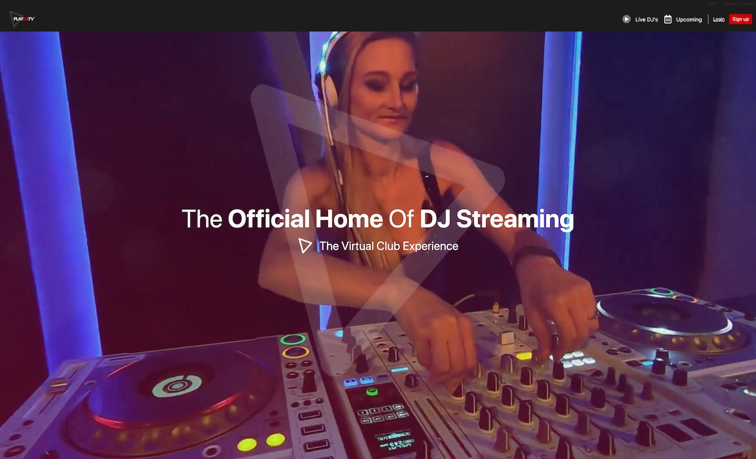 PlayDJ, bringing DJ's into people's homes during lockdown