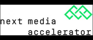 next media accelerator Logo