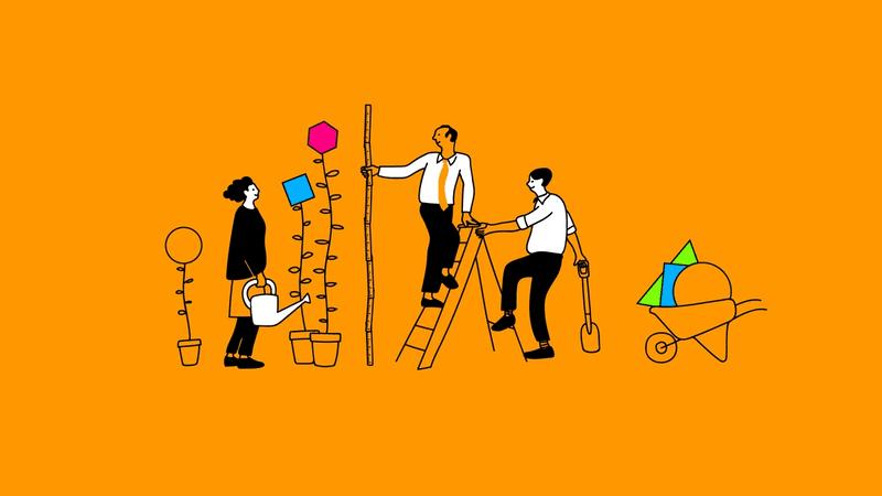 Illustration eines Product Coach