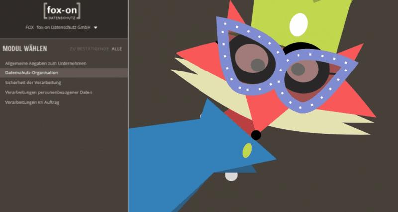Screenshot des Tools DS-Doku