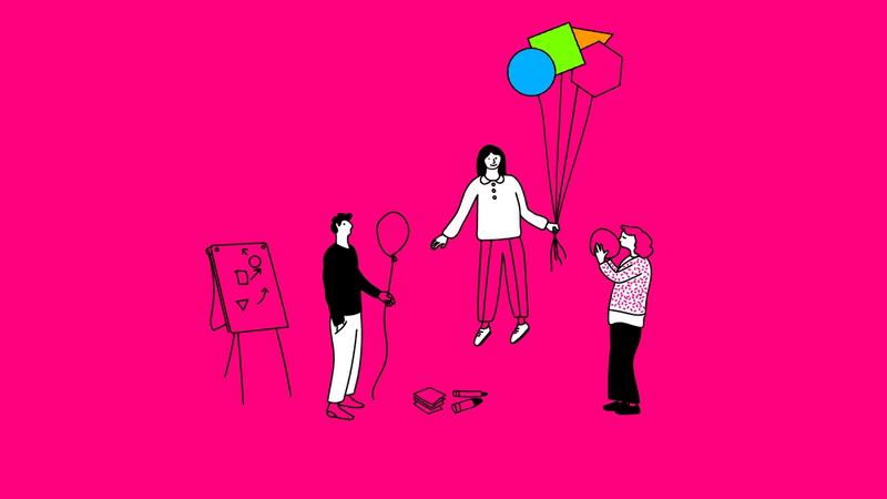 Illustration eines Agile Coach