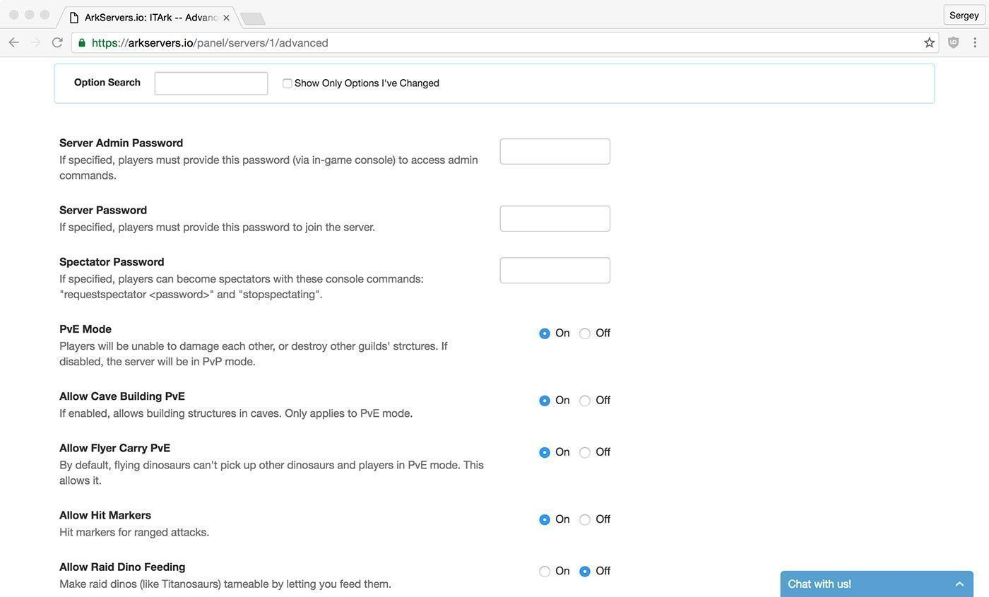 """<a href=""""/go/arkservers"""">ArkServers.io</a> has one of the best custom control panels for ARK"""