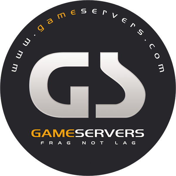 GameServers.com Rust server host logo