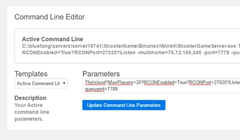 Comand line editor