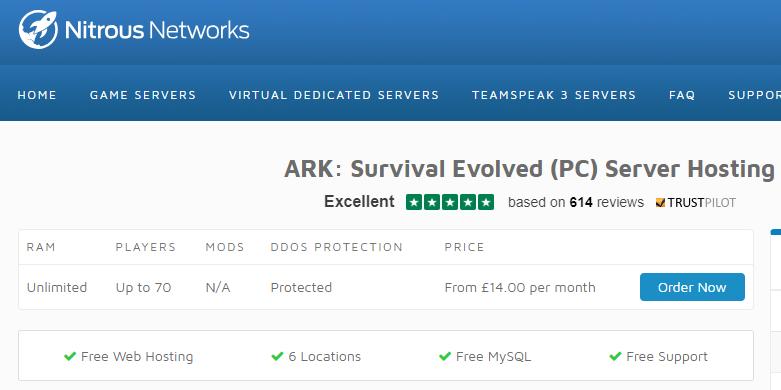 Хостинг для серверов ark перенос баз mysql с хостинга на хостинг
