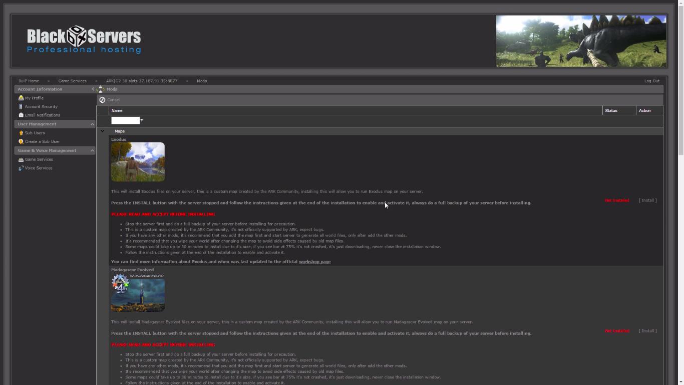 Blackbox Hosting Conan: Exiles Server Hosting