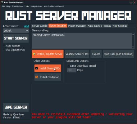 space engineers dedicated server настройка
