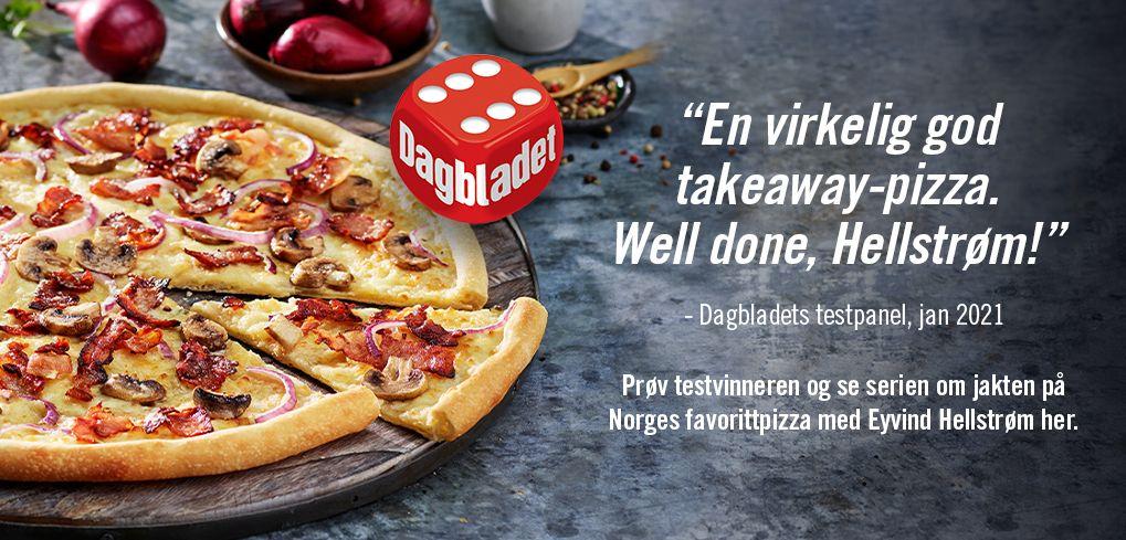 Les om jakten på Norges favorittpizza