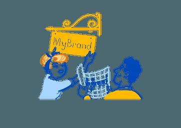 Tilpass til din merkevare