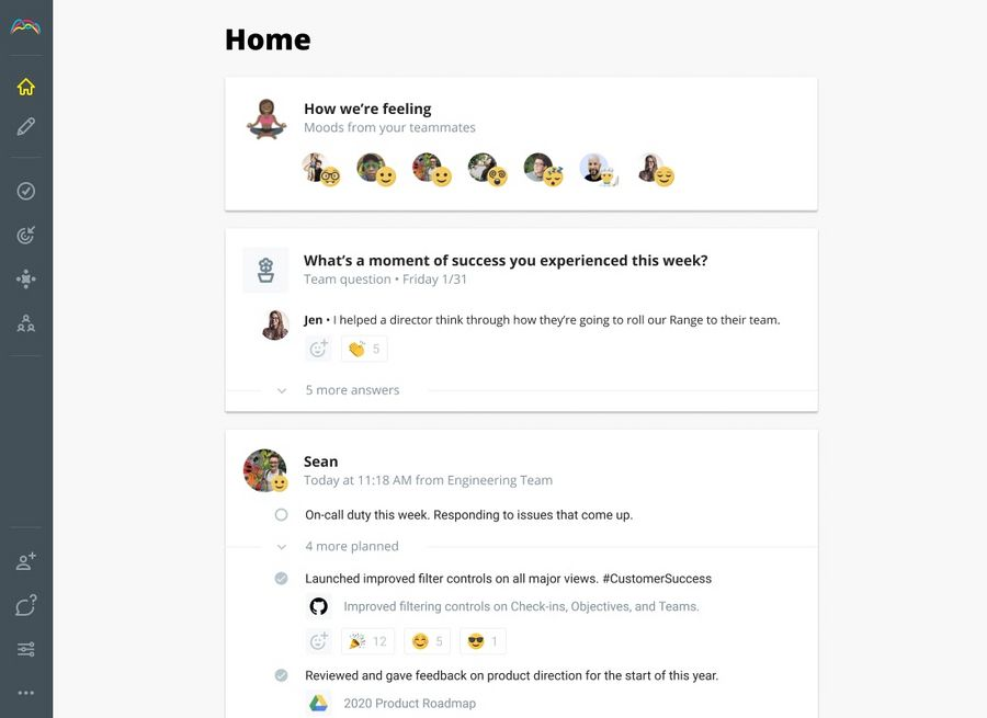 Get status updates out of meetings