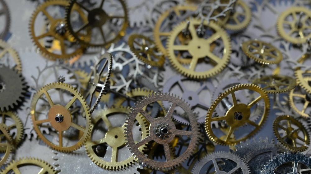 Pile of gears