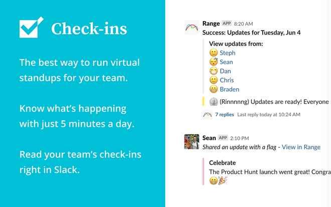 Collaboration tools for Slack – Range