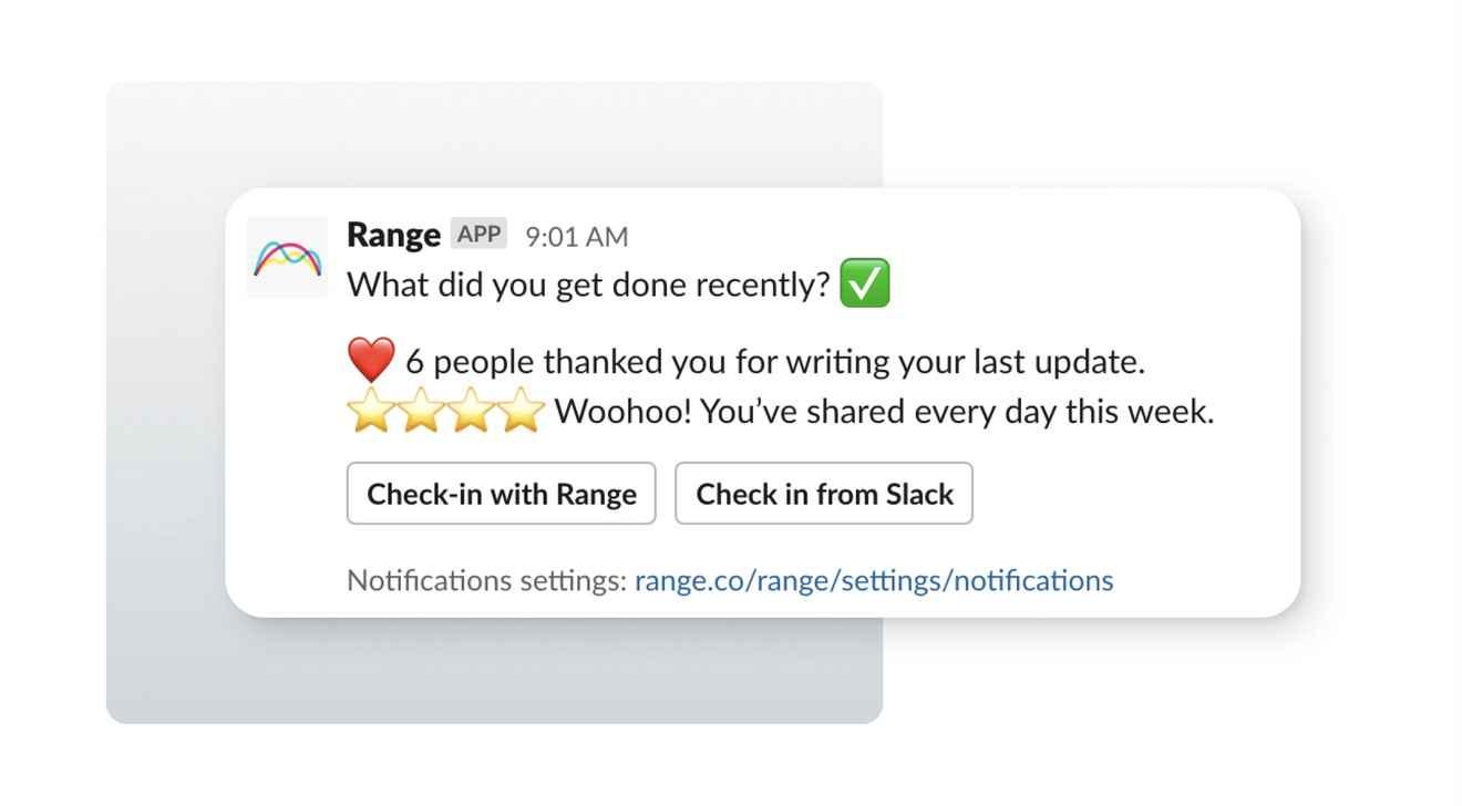 Slack UI design showing Direct Messages