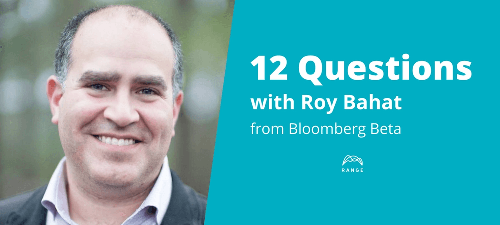 Roy Bahat of Bloomberg Beta