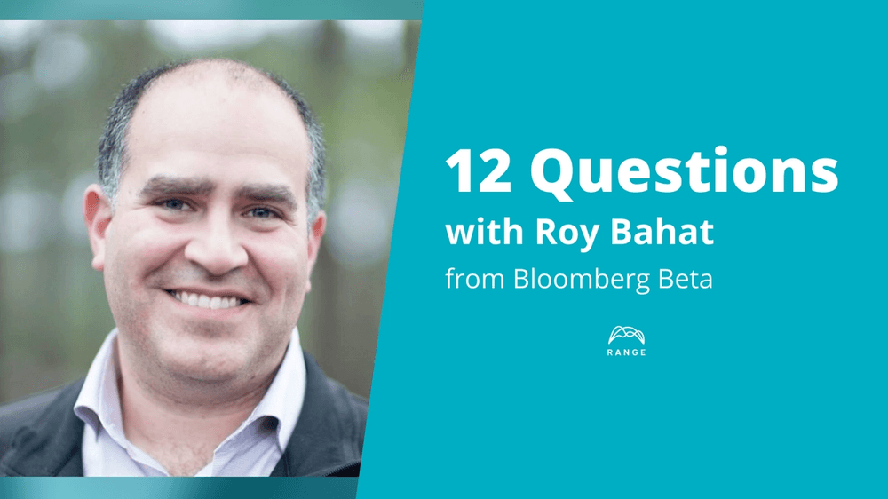 Roy Bahat of Bloomberg Beta