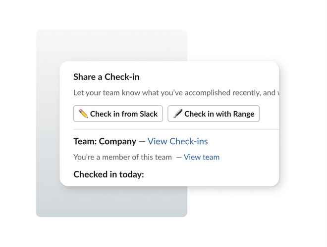 Image of Slack UI design with emoji buttons
