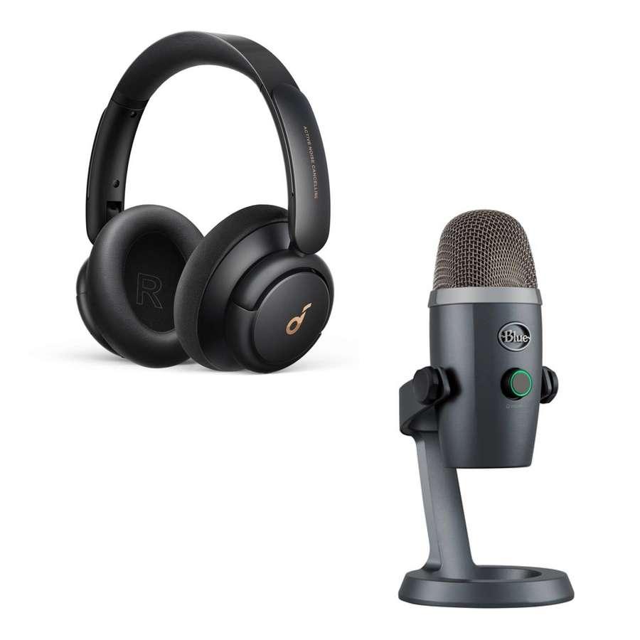 Blue Yeti podcast kit