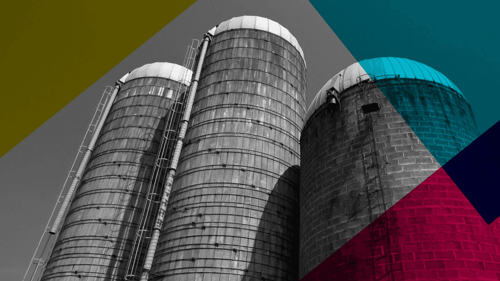 Image of three silos