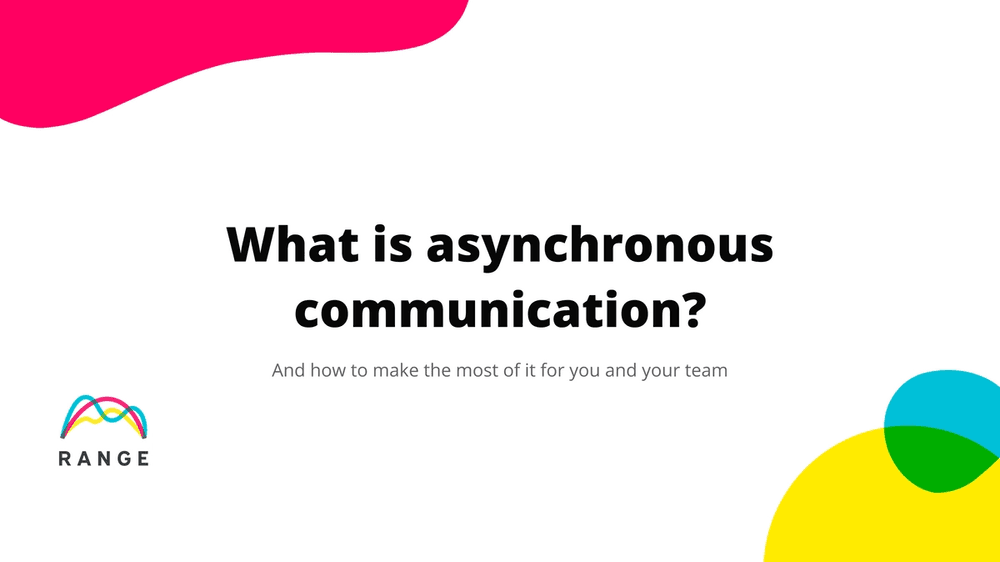 Title image for What is asynchronous communication