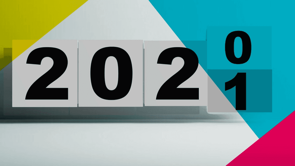 Blocks showing change from 2020 to 2021