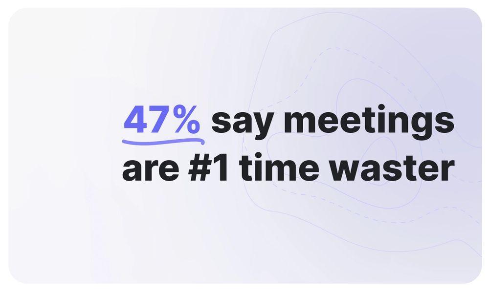 Meetings should matter