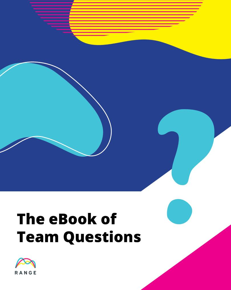 The eBook of Team Questions