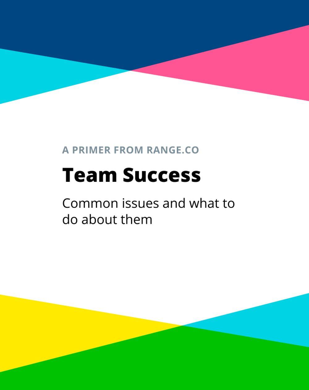Download our primer team success