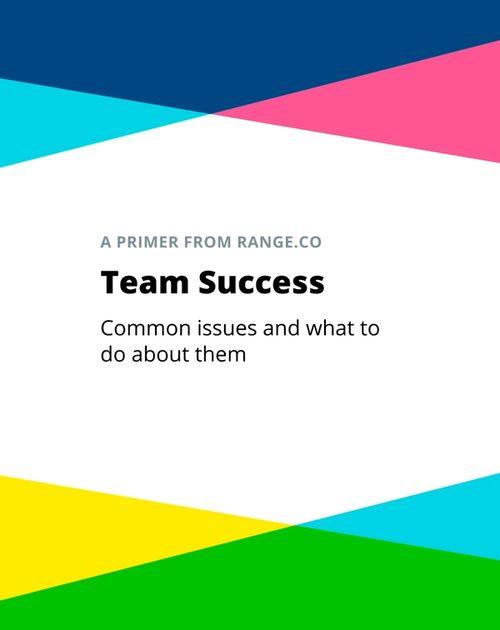 Download the free Team Success Primer