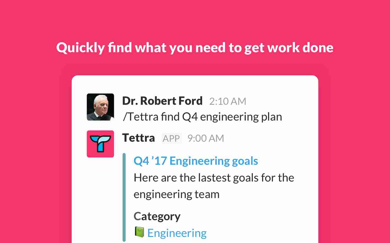 Collaboration tools for Slack – Tettra
