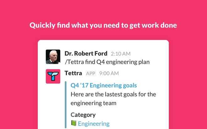 Collaboration tools for Slack – Tettra
