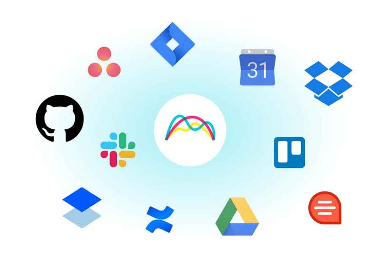 Integrations like Slack, Google Drive and GitLab in Range