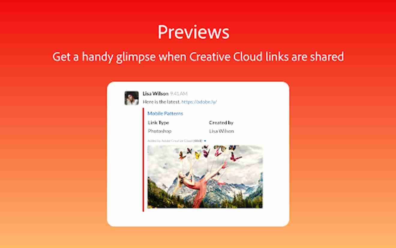 Collaboration tools for Slack – Adobe Creative Cloud