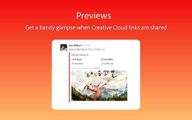 Collaboration tools for Slack – Adobe Creative Cloud