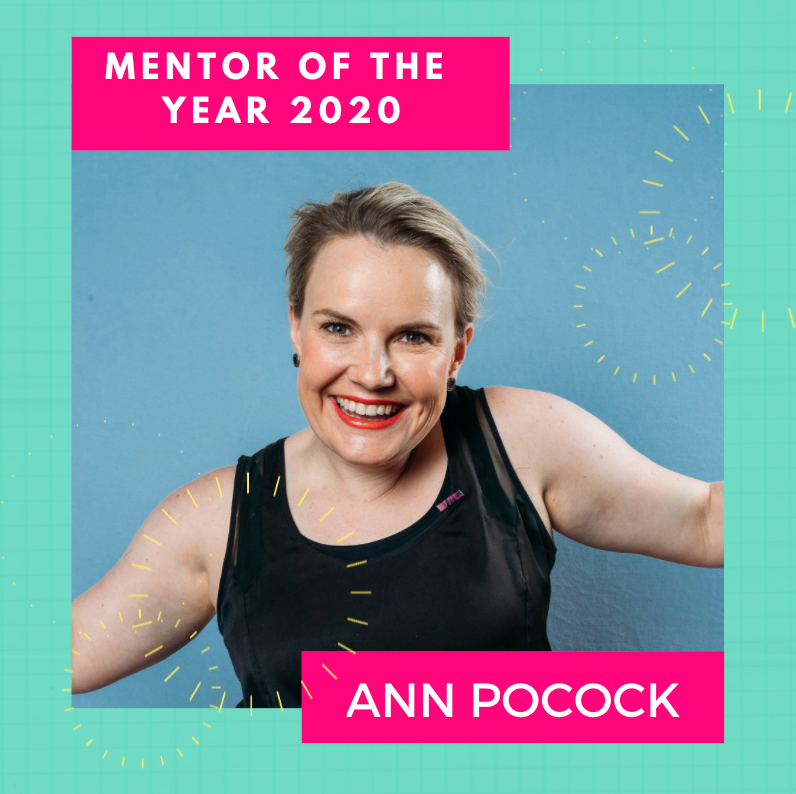 Ann Pocock - Mentor Of The Year 2020 - Image - She Mentors