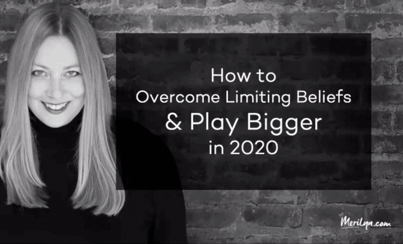 How to overcome limiting beliefs - video replay - image - She Mentors