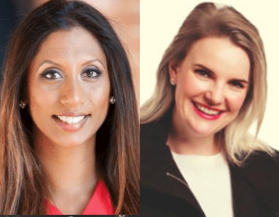 Winitha Bonney & Ann Pocock - Leadership Huddle Hosts - Image - Mentoring - She Mentors