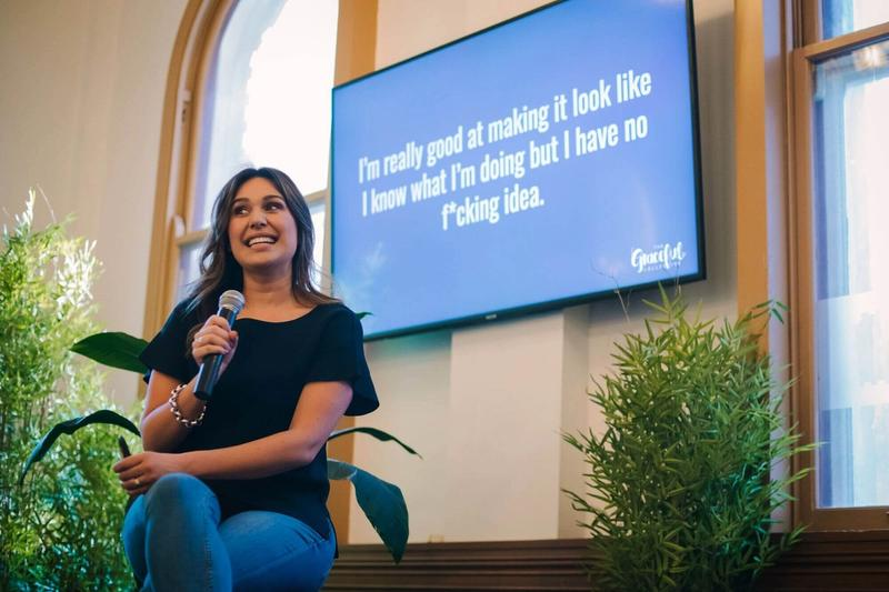 How To Overcome Imposter Syndrome - Lucy Allen - Founder - The Graceful Collective - She Mentors - Event - Founder - Networking