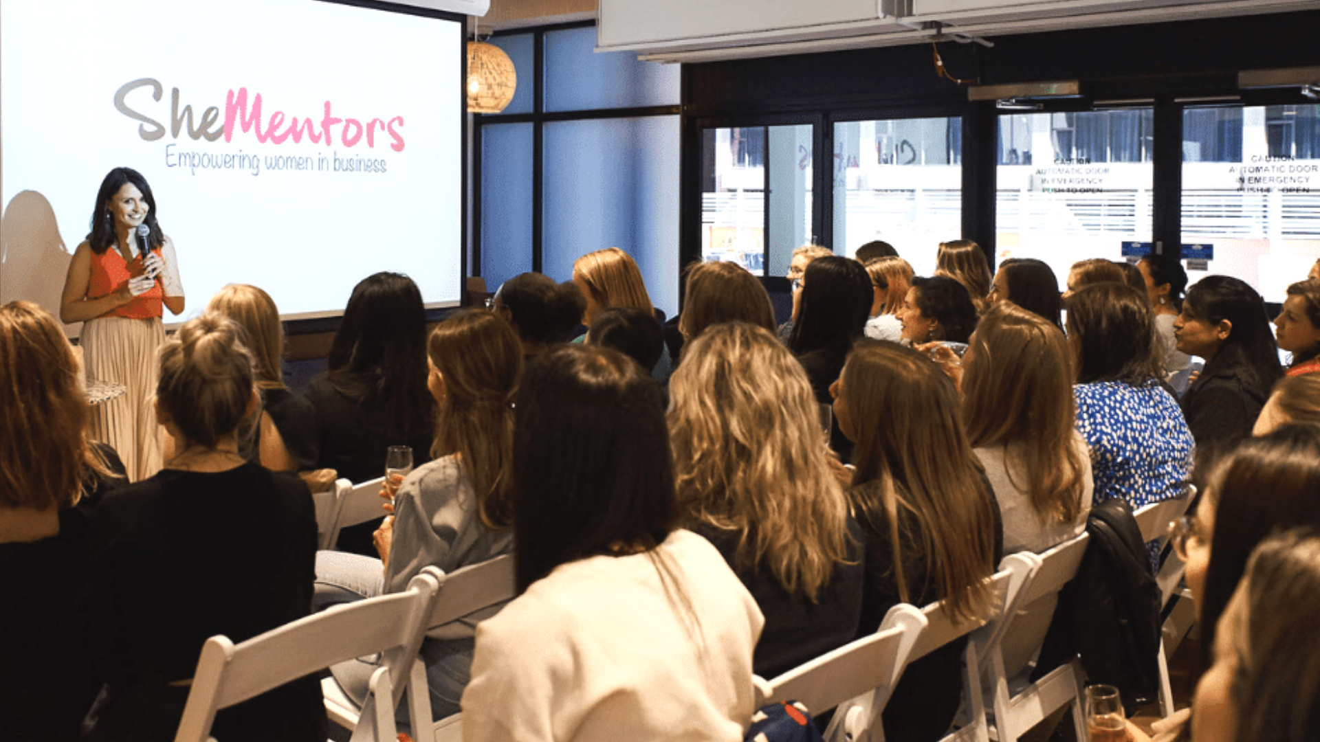 She Mentors founder Ali Adey with members-Image-Women empowering women-mentors